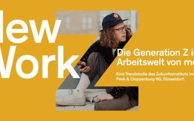 """Generation Z sucht Sicherheit und Sinn im Job: Neue Trendstudie """"New Work – Die Generation Z in der Arbeitswelt von morgen"""""""